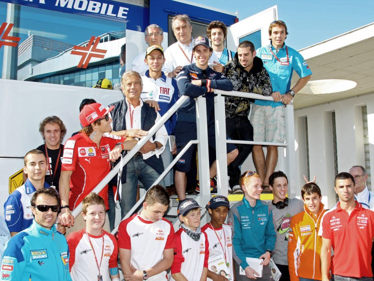Dr. Costa with MotoGP Riders in Jerez