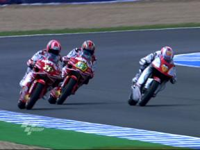 Best images of 250cc FP1 in Jerez