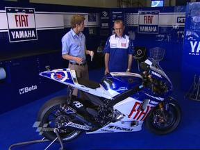 Bike Presentation: Lorenzo's Yamaha YZR-M1