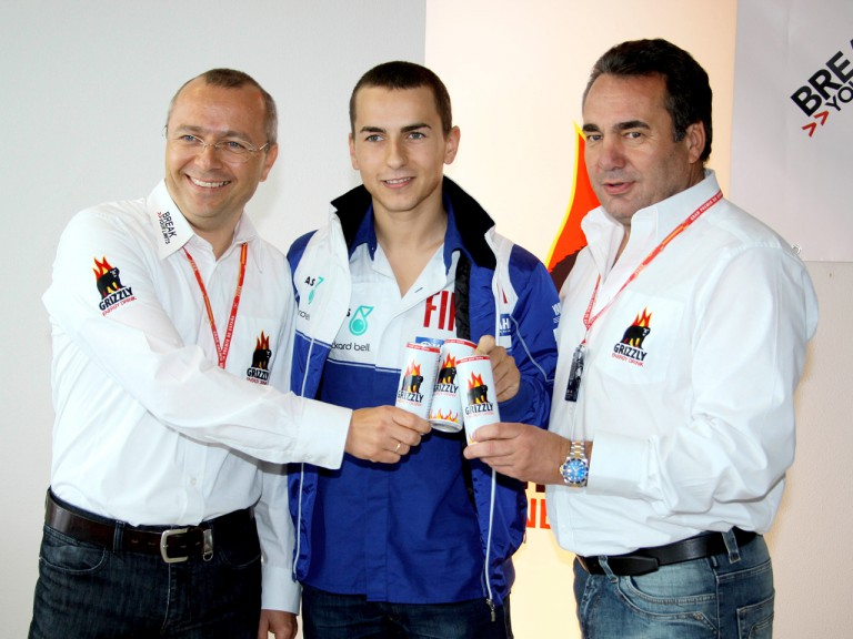 Grizzly Power presentation with Jorge Lorenzo