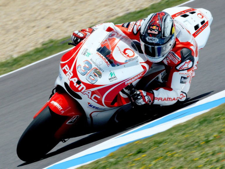 Mika Kallio on track in Jerez