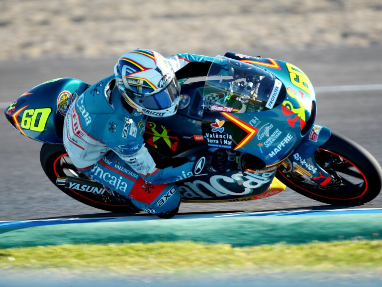 Julian Simon in action in Jerez