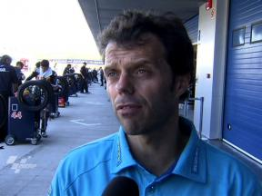 Capirossi on steady Jerez ride