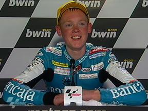Bradley Smith interview after race in Jerez