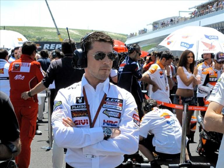 Lucio Cecchinello Team Manager of LCR Honda