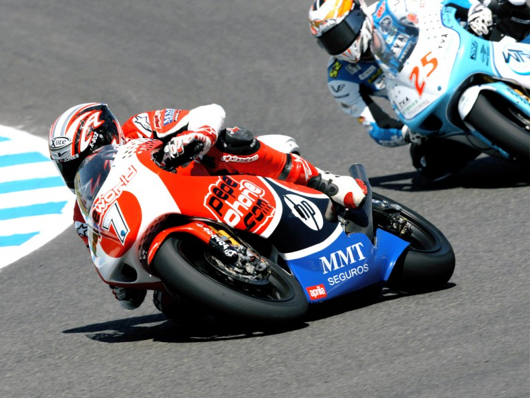 Axel Pons and Alex Baldolini in action in Jerez