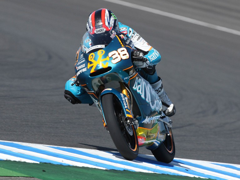 Bradley Smith in action in Jerez