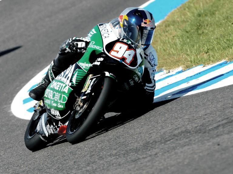 Jonas Folger in action in Jerez