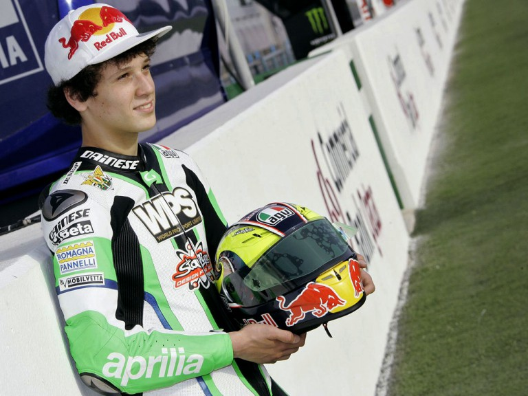 125cc Rider Lorenzo Savadori