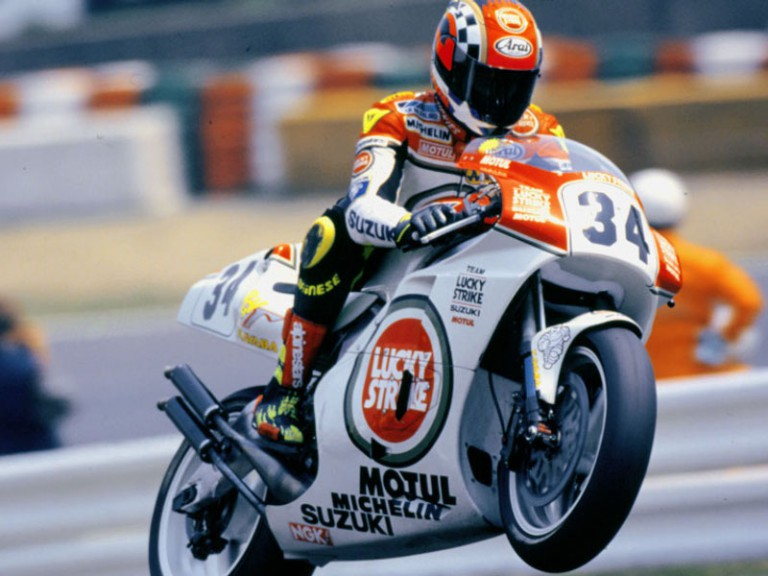 MotoGP Classics: Kevin Schwantz on the 1993 Lucky Strike Suzuki