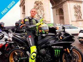 Rossi ride in Paris
