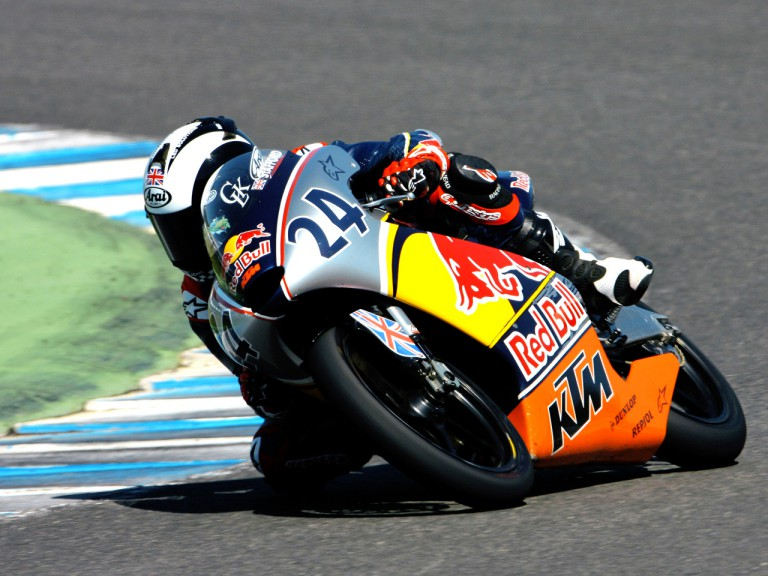 Red Bull Rookie Harry Stafford in action at Jerez