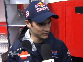 Pedrosa looks for better condition
