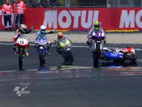 Best images of 250cc FP1 in Le Mans