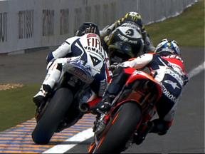 Best images of MotoGP FP1 in Le Mans