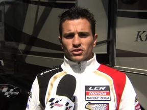 De Puniet wants to try hard tyre on Saturday