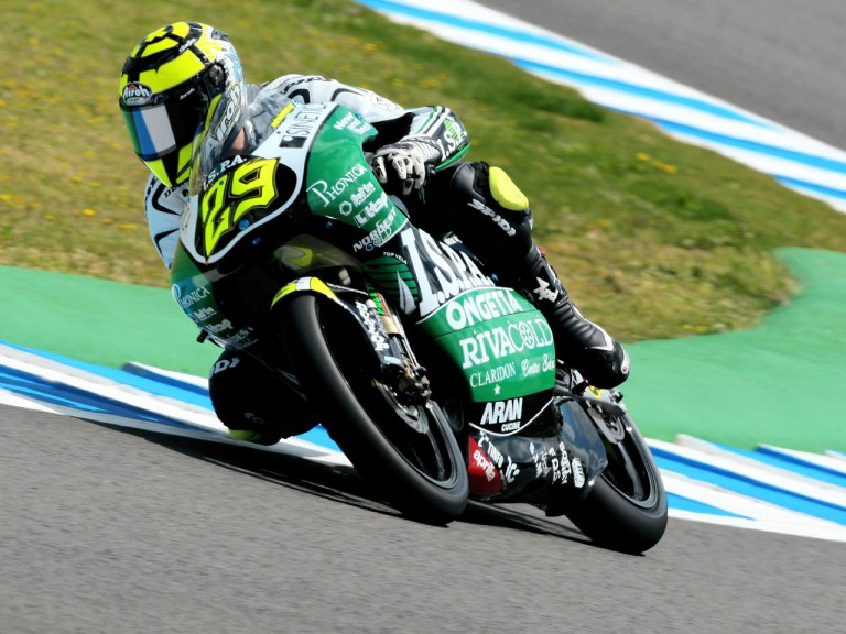 Andrea Iannone in action