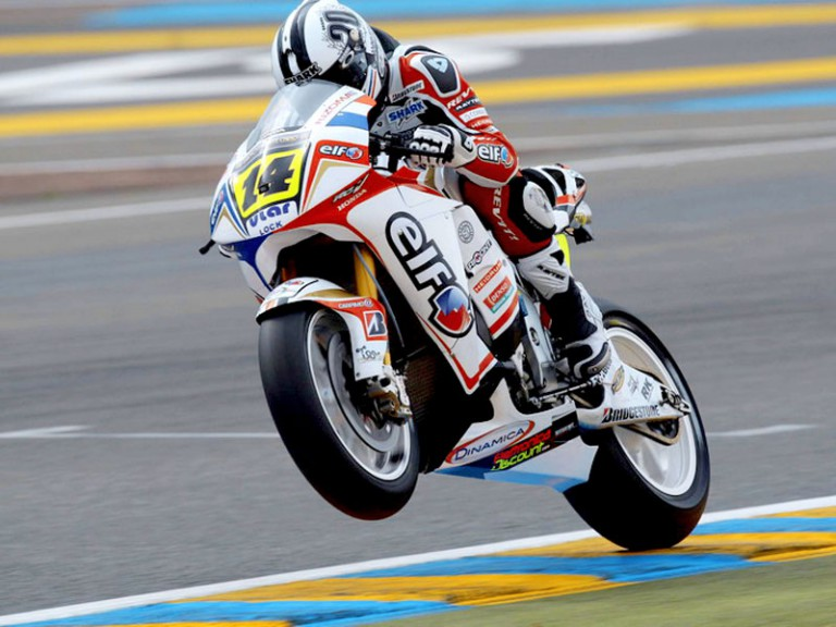 Randy de Puniet on track at Le Mans
