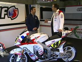 The LCR Honda RC212V of Randy de Puniet