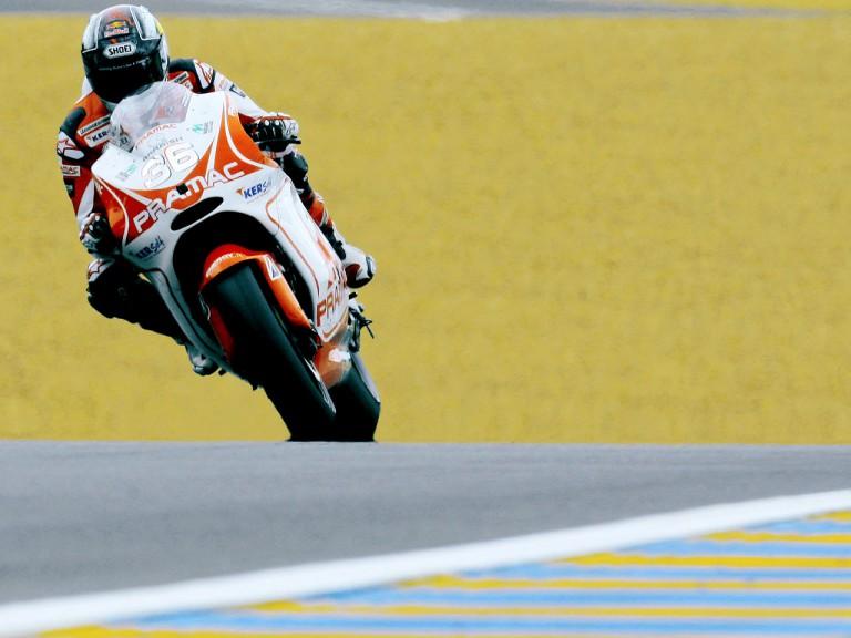 Mika Kallio in action in Le Mans