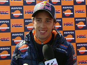 Dovizioso heartbreak on last lap