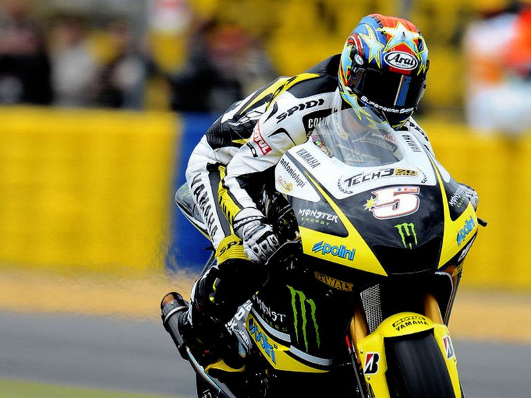 Colin Edwards in action in Le mans