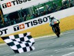 Julian Simon at the finish of 125cc Race in Le Mans