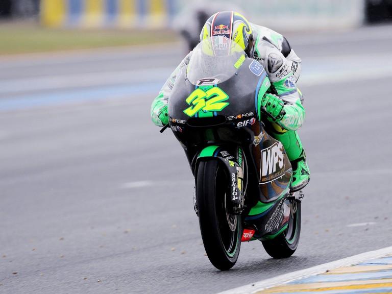 Lorenzo Savadori in action in Le Mans