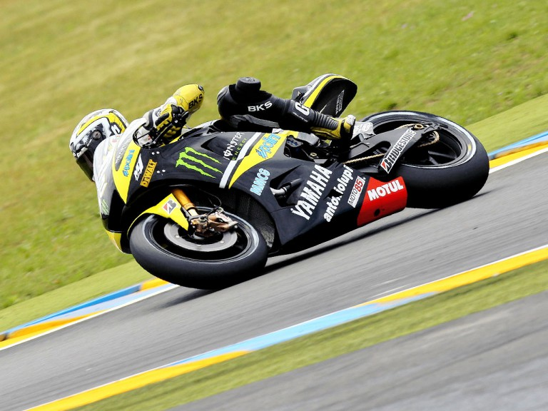 James Toseland in action in Le Mans