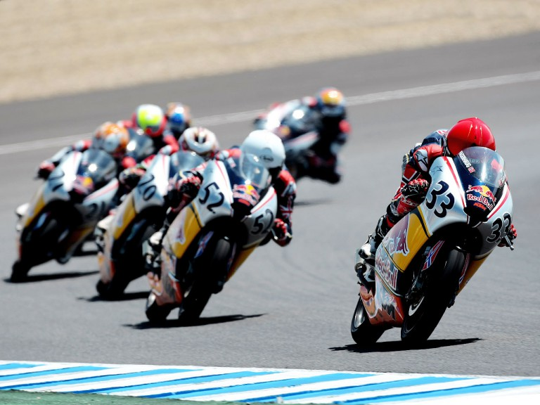 Red Bull Rookies in action in Jerez