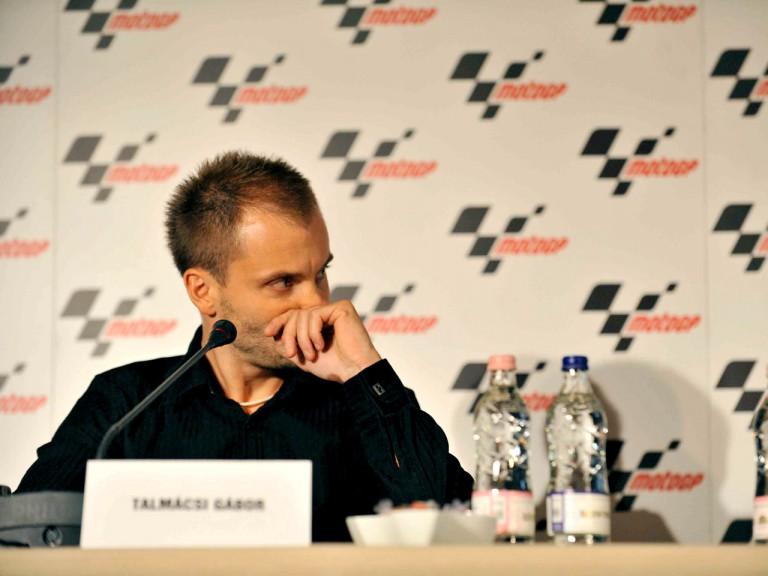 Gabor Talmacsi during press conference