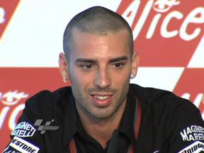 Melandri expects tough weekend