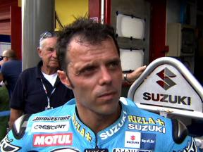 Capirossi on first day´s findings