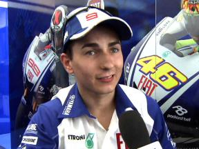 Jorge Lorenzo interview after FP1 at Mugello