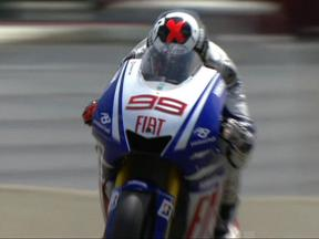 Mugello 2009 - MotoGP FP1 Highlights