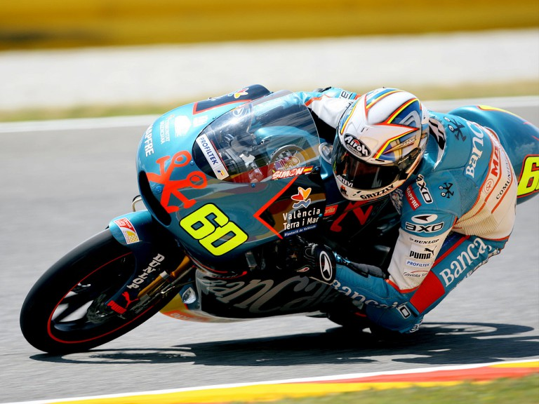 Julian Simon in action in Mugello