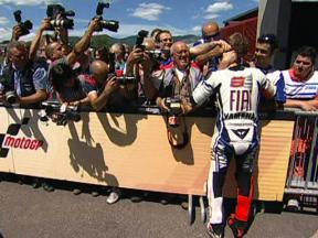 Mugello 2009 - MotoGP QP Highlights