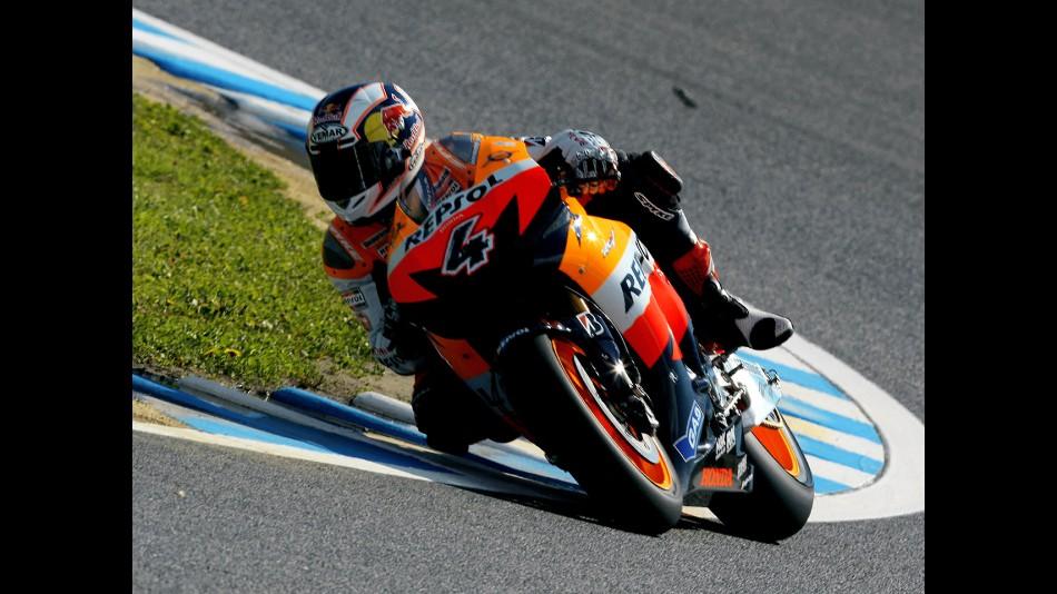 motogp.com · Andrea Dovizioso in action in Motegi