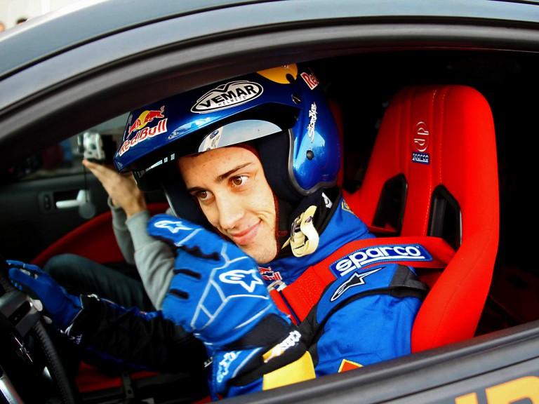 Andrea Dovizioso at Bologna Motorshow
