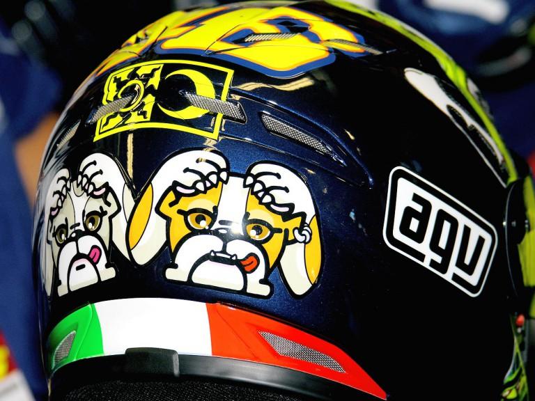Valentino Rossi´s helmet for Mugello