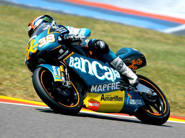 Bradley Smith in action in Mugello