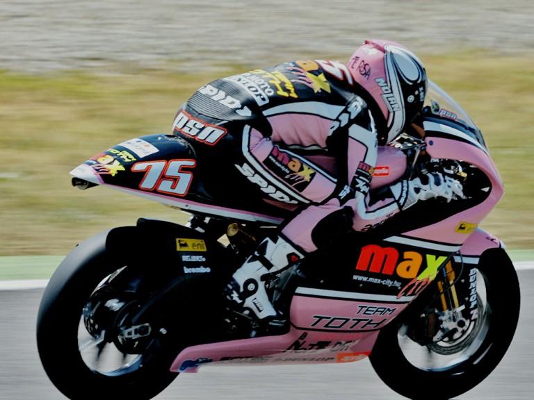 Mattia Pasini in action in Mugello