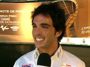 Elias at Grand Prix presentation
