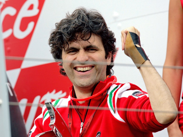 Ducati Technical Director Filippo Preziosi celebrate Podium at Mugello