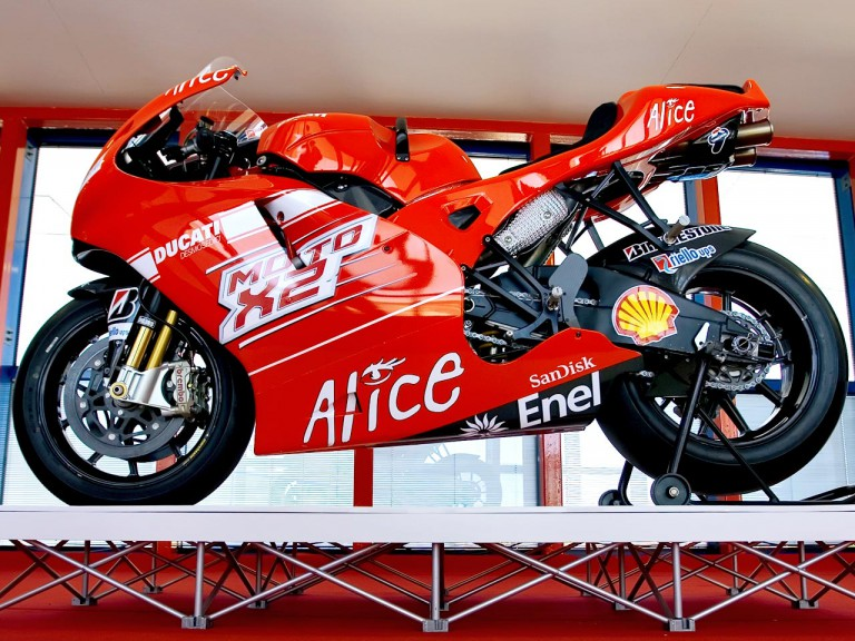 MotoGP X2 machine