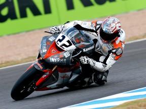 Ivan Silva in action at Buckler CEV event in Jerez