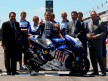 Lorenzo displays Barça livery at Montmeló