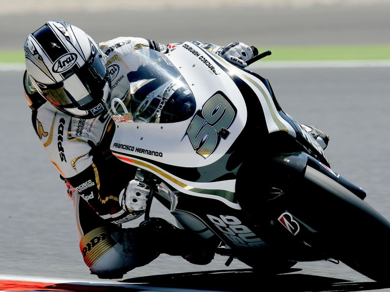 Sete Gibernau in action in Montmeló
