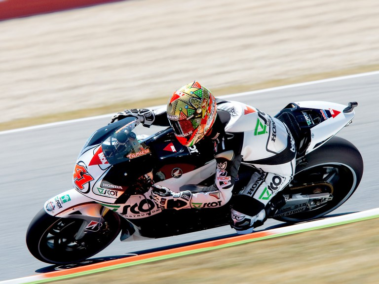 Gabor Talmacsi in action in Montmeló