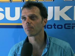 Capirossi pleased with fifth in Barcelona